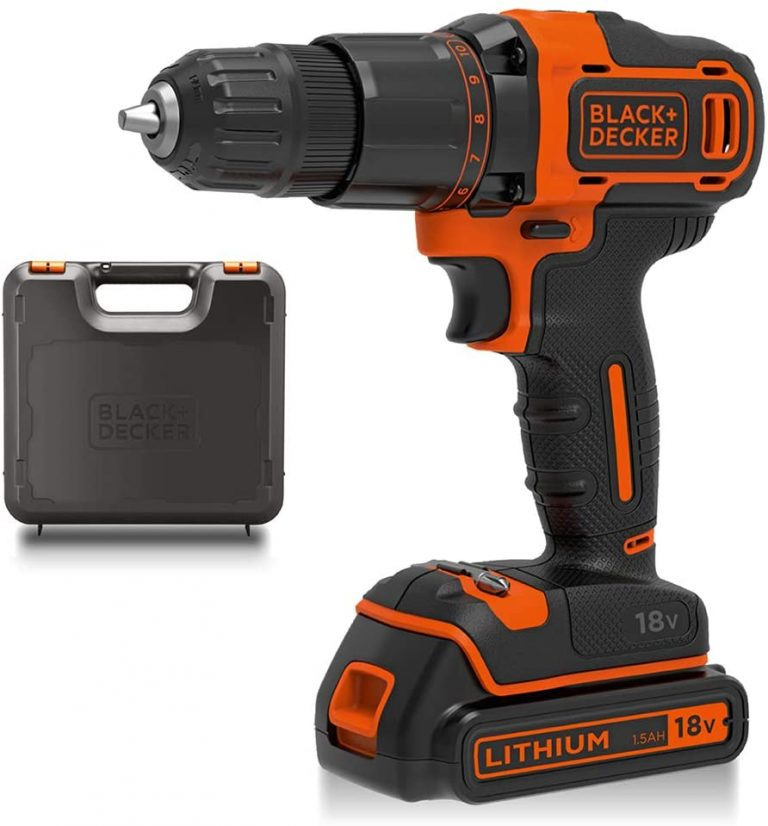 BLACKDECKER 18 V Cordless 2 Gear Combi Drill