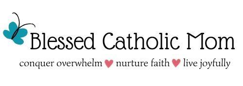 Bless Catholic Mom Logo