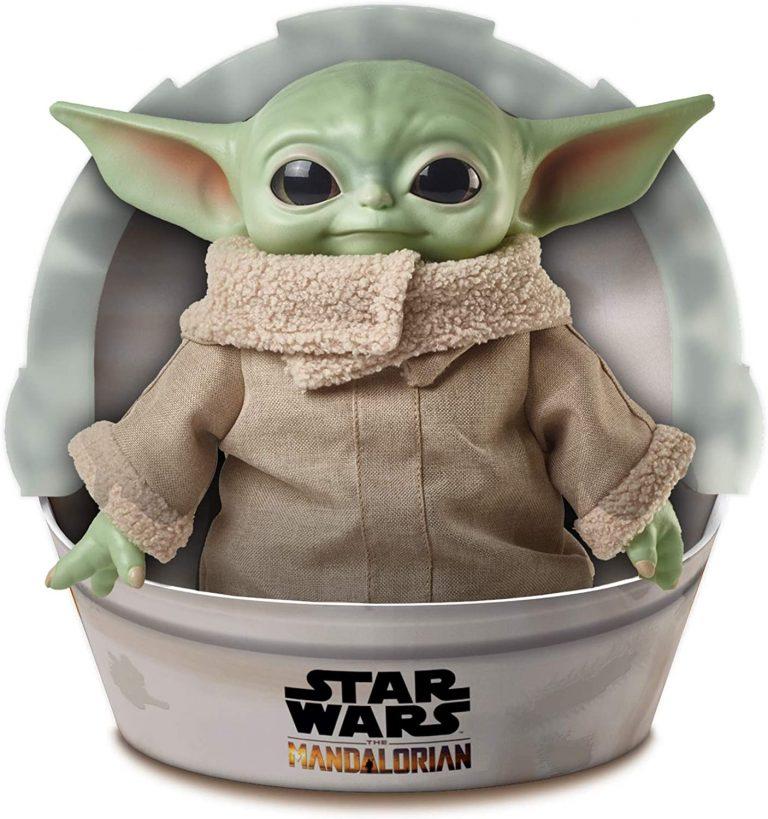 Mattel Star Wars The Child Plush Toy 11 Inch Small Yoda Like Soft Figure from The Mandalorian