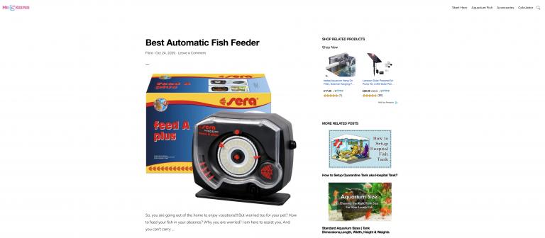 Mr Fishkeeper Homepage