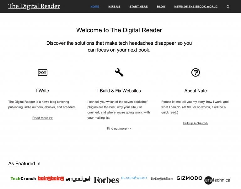 The Digital Reader Homepage