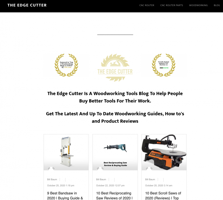 The Edge Cutter Homepage