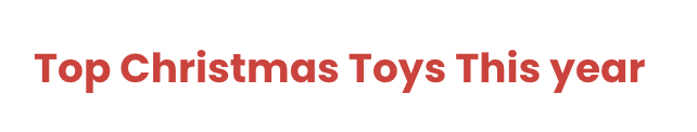 Top Christmas Toys This Year Logo