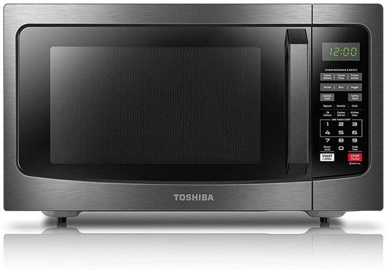 Toshiba EM131A5C BS Microwave Oven with Smart Sensor