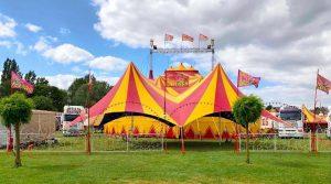 circus barones chapiteau