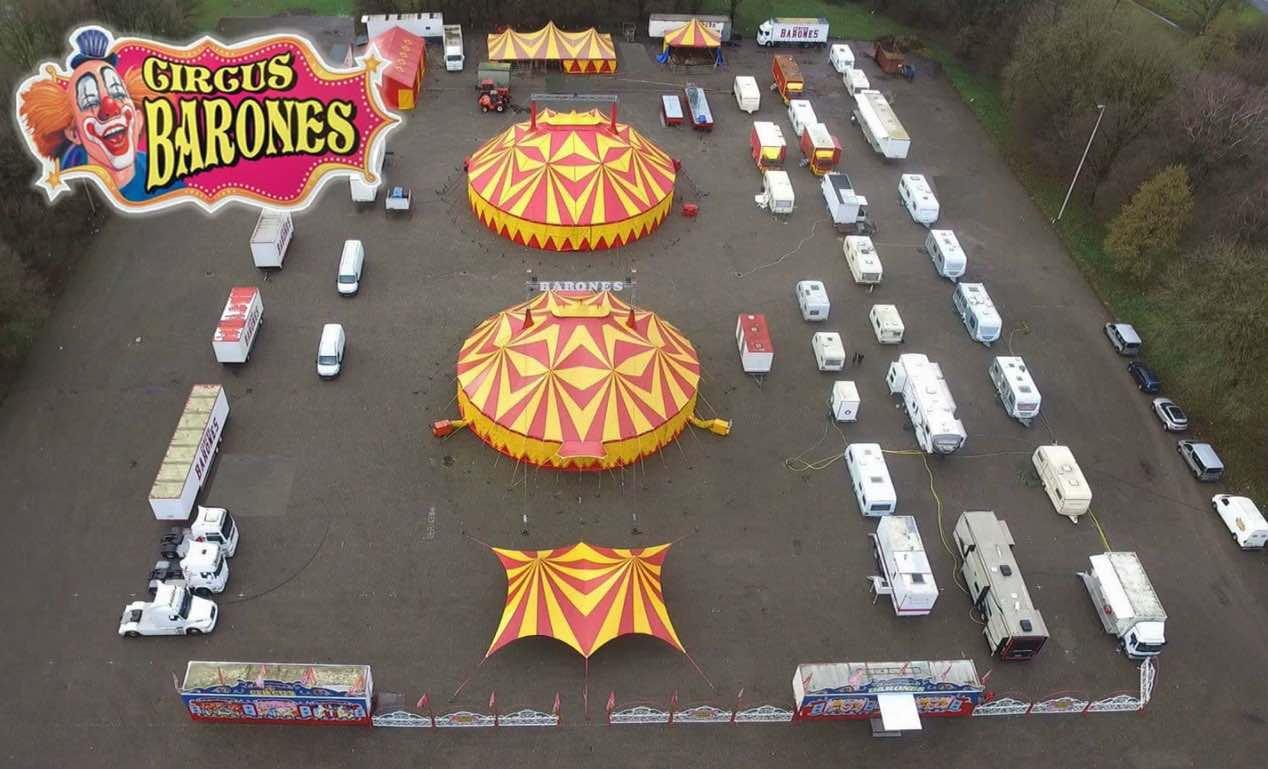 circus barones vu du ciel