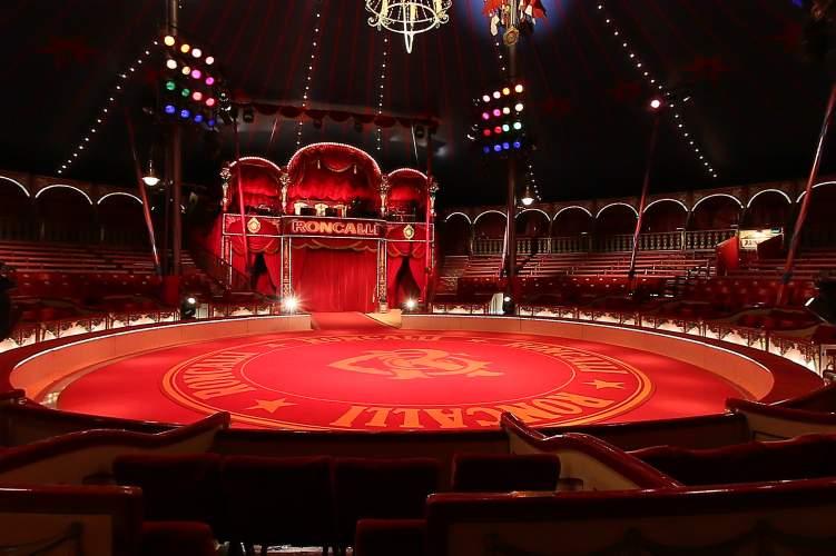circus roncalli piste
