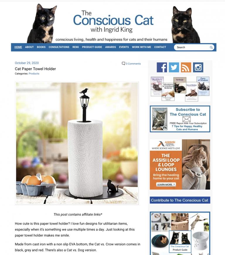 conscious cat homepage