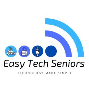 easy tech seniors logo