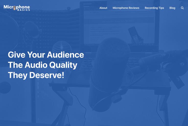 microphone basics home page
