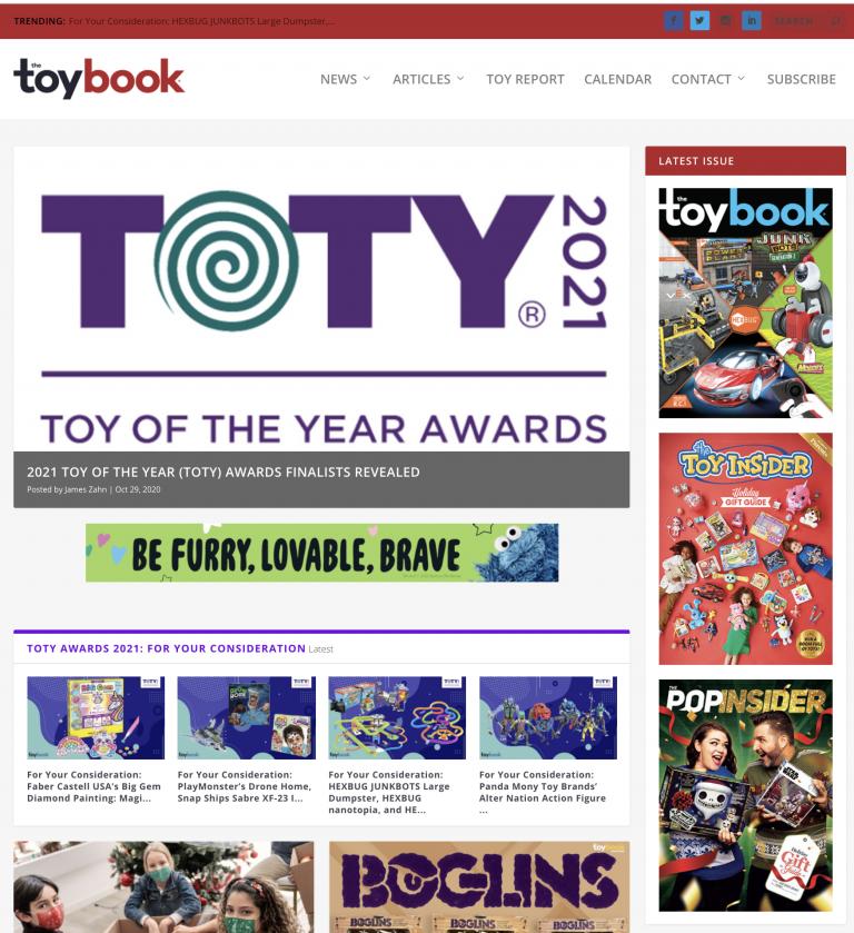 toybook homepage