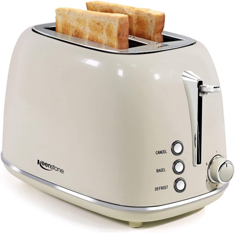 2 Slice Retro Stainless Steel Toasters