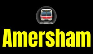 Amersham  London Underground Station Logo PNG