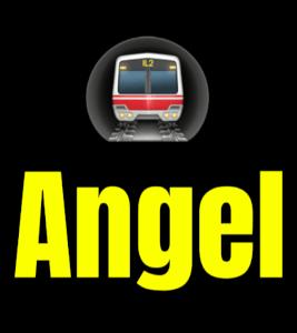 Angel  London Underground Station Logo PNG