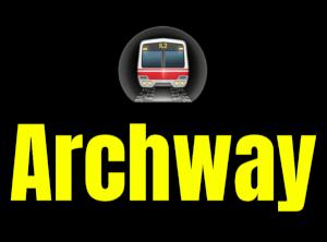 Archway  London Underground Station Logo PNG