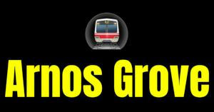Arnos Grove  London Underground Station Logo PNG