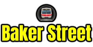 Baker Street  London Underground Station Logo PNG