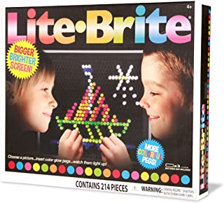 Basic Fun Lite Brite Ultimate Classic Retro Toy Gift for Girls and Boys