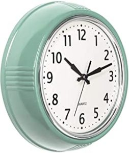 Bernhard Products Retro Wall Clock