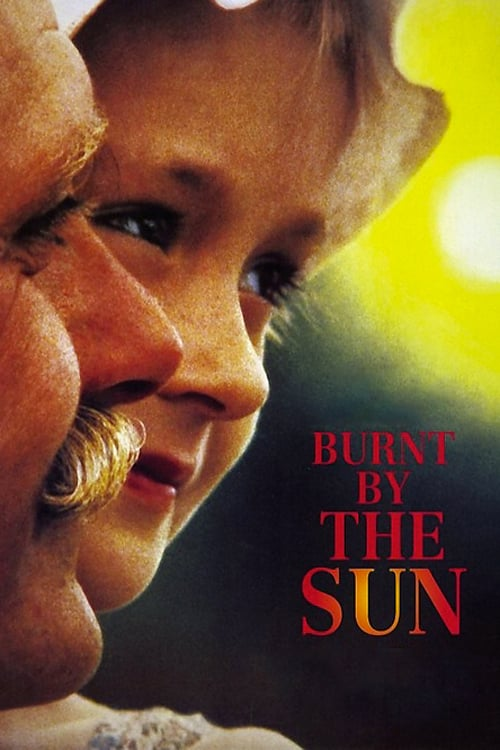Burnt by the Sun movie poster 1994