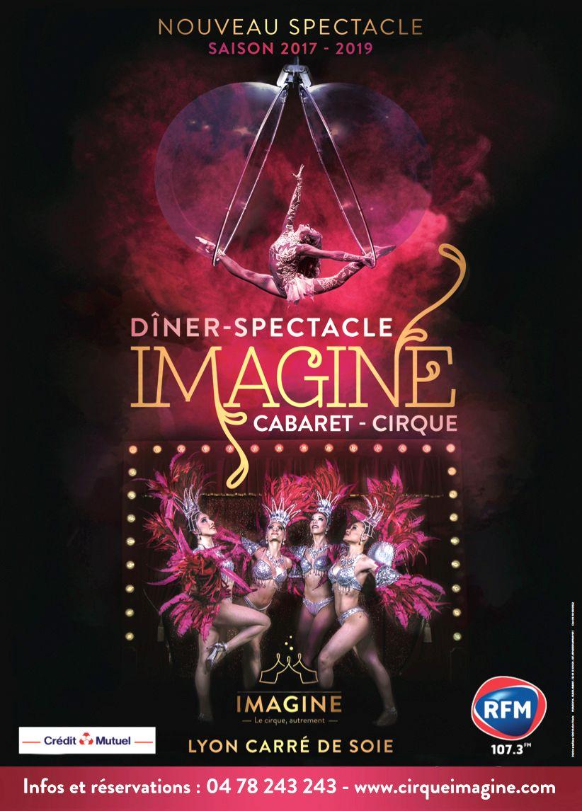 Cabaret Cirque Imagine affiche