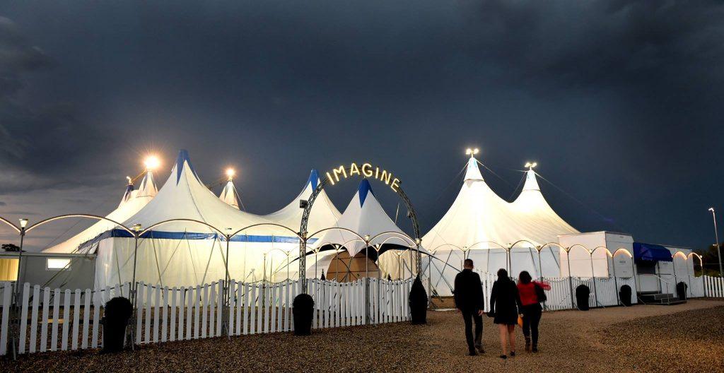 Cabaret Cirque Imagine chapiteau
