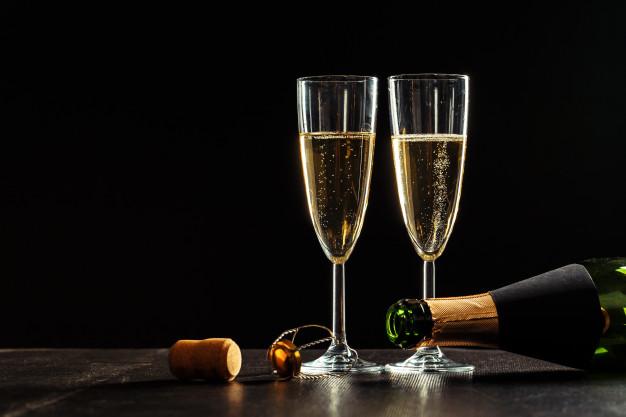 Champagne glass pic
