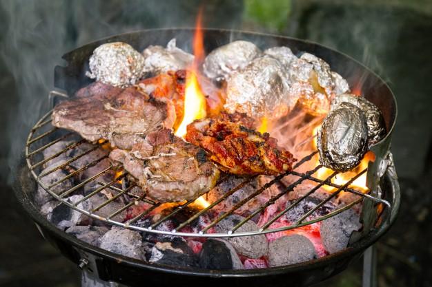 Charcoal BBQ pic