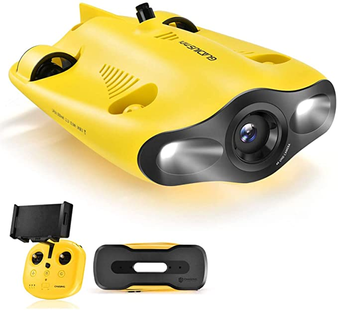 Chasing GLADIUS Mini Underwater Drone