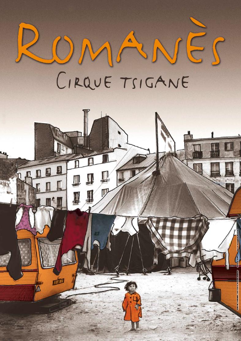 Cirque Romanes Tsigane affiche
