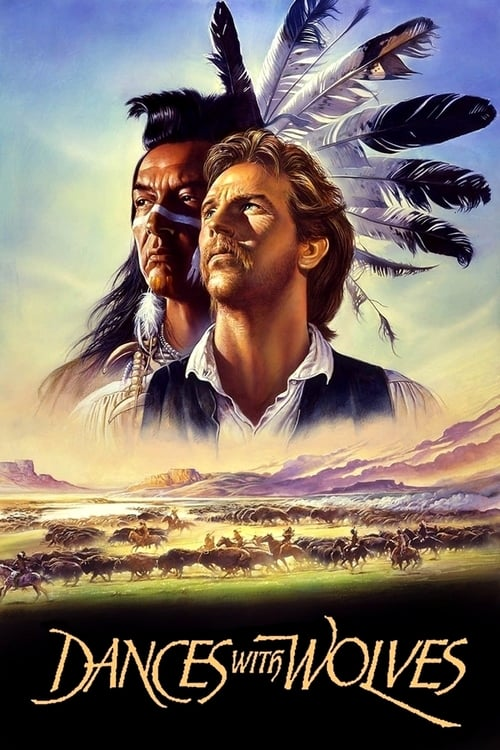 Dances with Wolves movie poster 1990