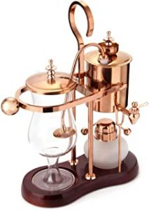 Diguo BelgianBelgium Luxury Royal Family Balance Syphon Coffee Maker. Elegant Design Retro Style