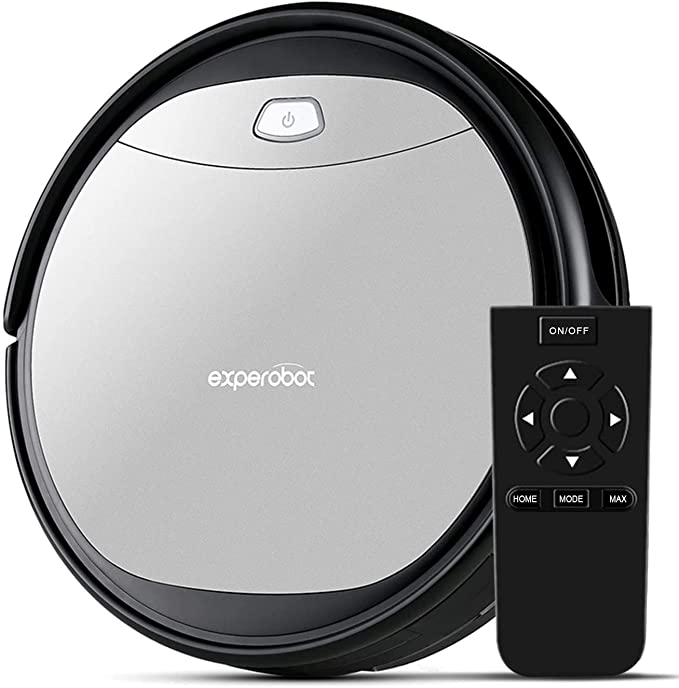 Experobot EX500 Robot Vacuum Cleaner 1400Pa Robotic Vacuum Cleaner (Slim) Max Suction