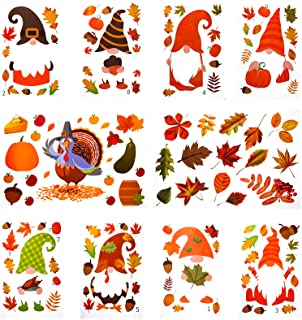 Fall Thanksgiving Window Cling Set