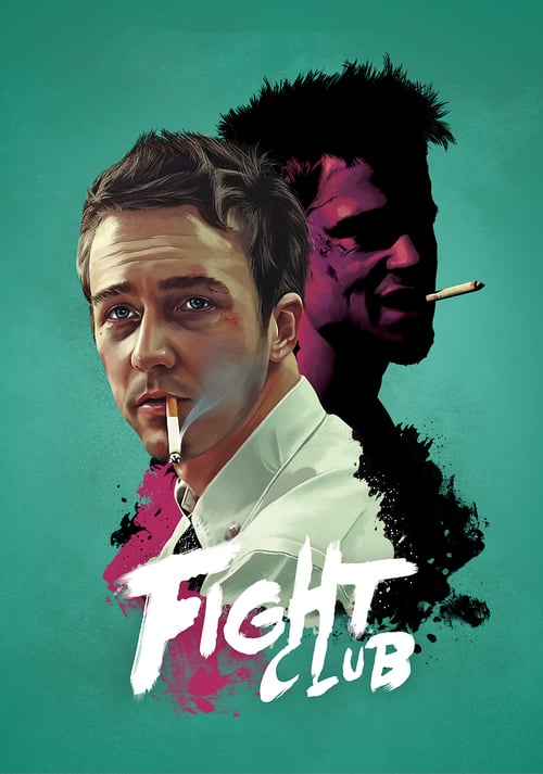 Fight Club movie poster 1999