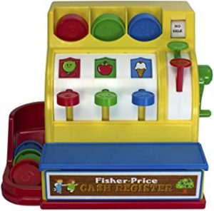 Fisher Price Classic Toys Retro Cash Register