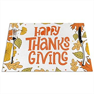 Happy Thanksgiving Placemat