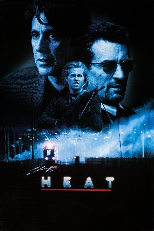 Heat movie poster 1995