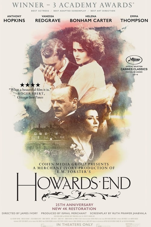 Howards End movie poster 1992