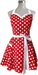 Hyzrz Lovely Sweetheart Retro Kitchen Apron