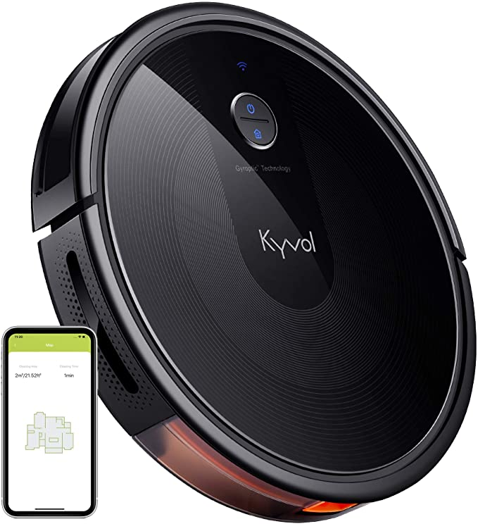 Kyvol Cybovac E30 Robot Vacuum Cleaner 2200Pa Strong Suction