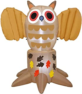LED Inflatagle Thanksgiving Owl
