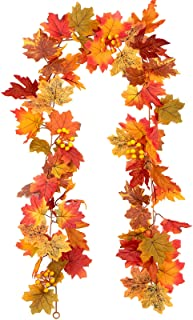 Maple Leaf and Berries Garland