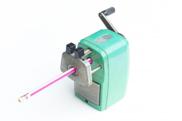Mechanical pencil sharpener pic