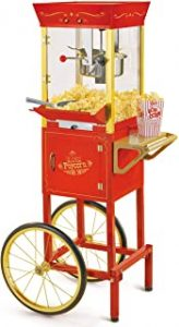 Nostalgia Concession CCP510 Vintage Professional Popcorn Cart