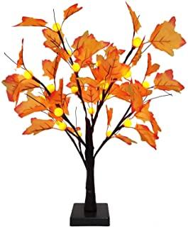 Prelit Thanksgiving Maple Tree