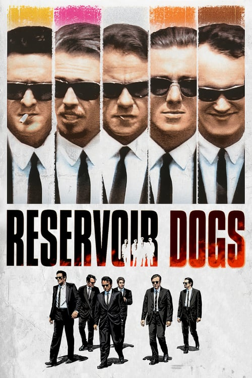 Reservoir Dogs movie poster 1992