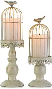 Retro Birdcage Candle Holder