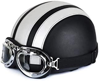 Retro Motorcycle Open Face Half Helmet