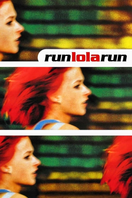 Run Lola Run movie poster 1998